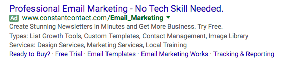 Email Marketing Ad