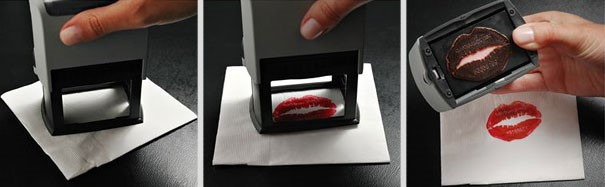 Stamp Business Card as an Ad