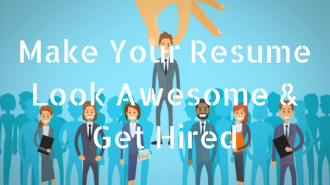 7 Ways to Make Your Social Media Resume Look Awesome & Get Hired