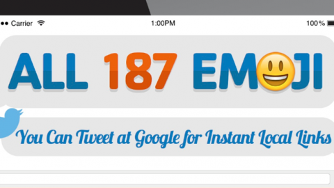 #KnowNearby: Every Emoji You Can Tweet at Google for Instant Local Links [Infographic]