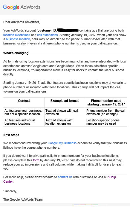 Google Is Changing How Call Extensions Show in 2 Weeks – Here's What on