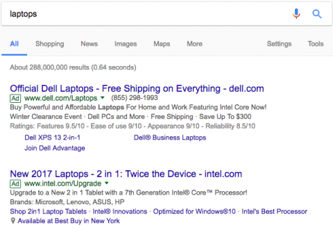 How will Google's new 'Ad' label impact marketers?