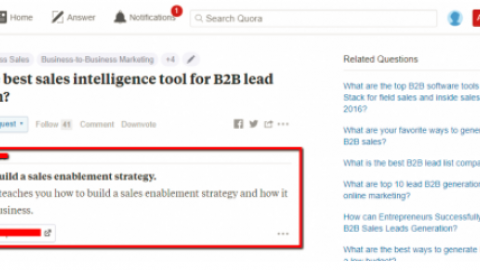 How to expand search marketing reach in the slow season, part 1: Quora