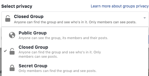 how to create a group on facebook business page