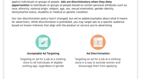 Facebook Removes Ad Targeting Options – Should You Be Worried?