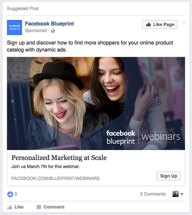 5 facebook lead ad examples to learn from and copy. Black Bedroom Furniture Sets. Home Design Ideas