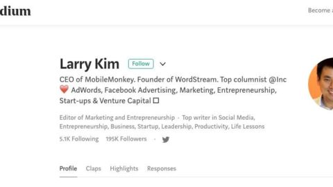 6 Larry Kim Approved Strategies to Build Your Personal Brand