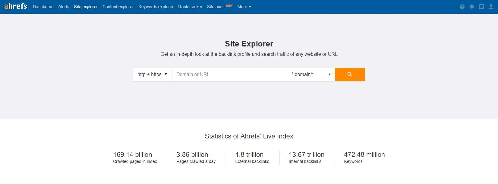 SEO tools for 2019 AHrefs