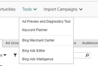 ecommerce-ppc-bing-merchant-center-drop-down