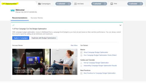 Facebook Tests an Opportunities Tab, Google Makes Images Shoppable, & More Recent News