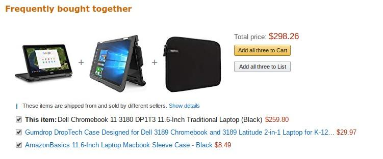 ecommerce user experience bottom bar of recommendations