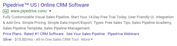 copywriting-tips-pipedrive-crm-text-ad