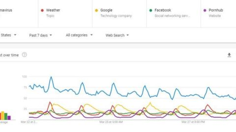 How COVID-19 Is Shaping Google Search Trends & Patterns [Data]