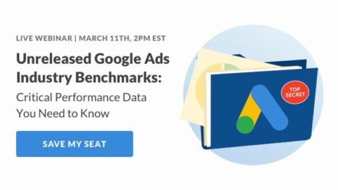 Sneak Preview: Google Ads Benchmarks for YOUR Industry
